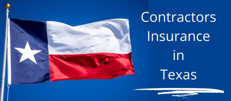 contractors insurance in Texas